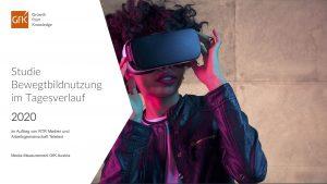 Die Bewegtbildstudie 2020 zeigt, dass klassisches TV Marktführer bleibt, die Nutzung von Online-Video jedoch weiter zunimmt – wobei insbesondere bei der jüngeren Zielgruppe deutliche Veränderungen im Nutzungsverhalten festzustellen sind.