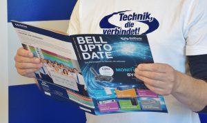 """Mit """"Bell-Up-to-Date"""" gibt es nun auch ein eigenes Fachmagazin für Technik, die verbindet."""