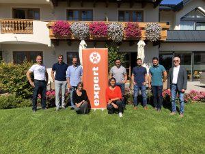 Acht Teilnehmerinnen und Teilnehmer konnte Expert am ersten Termin des Modul 3 für Expert Unternehmer-Akademie begrüßen.