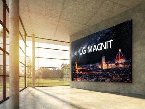 Mit seiner neuen Micro-LED-Signage Lösung MAGNIT will LG einmal mehr Maßstäbe in puncto Bildqualität setzen.