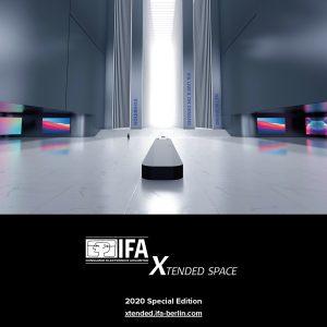 IFA bietet mit Xtended Space weltweit Medien sowie Fach- und Privatbesuchern virtuellen Live-Zugang zu den Inhalten der IFA 2020 Special Edition und will mit der neu entwickelten Digital-Plattform Maßstäbe für die Branche setzen.