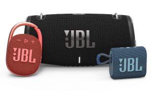 Zur IFA-Zeit kann Harman trotz Messe-Abstinenz wie gewohnt mit einer geballten Ladung an Produktneuheiten aufwarten – etwa im im Bereich der portablen Speaker mit den Modellen JBL Xtreme 3, JBL GO 3 und JBL Clip 4.