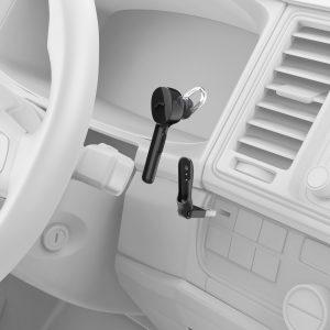 """Mit dem kabellosen Headset """"MyVoice1300"""" bringt Hama einen praktischen Kommunikations-Helfer."""