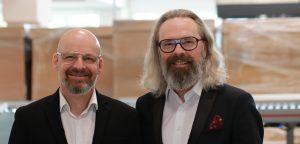 Aqipa CEO Christian Trapl (re.) und VP Sales Klaus Trapl konnten die Herausforderungen durch Covid-19 bis dato erfolgreich meistern und das Markenprtfolio kräftig ausbauen.
