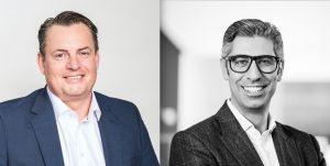 TP Vision DACH-Chef Murat Yatkin (re.) und VL Dietmar Rapp (li.) erzählen im E&W-Gespräch vom neuen Weg, der mit Philips TV in Österreich gegangen werden soll.