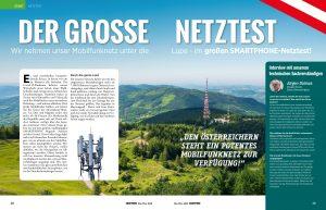 Für ihren Netztest waren die Prüfer des Smartphone MAgazins insgesamt 7.500 Kilometer in Österreich unterwegs.