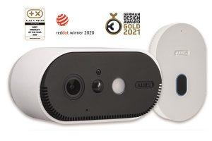 Die WLAN Akku Cam von ABUS konnte auch die Jury des German Design Award überzeugen.