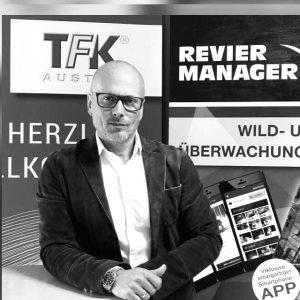 """TFK-CEO Alexander Meisriemel betont die Zubehör-Kompetenz von TFK: """"Wir verfügen über 30 Jahre Erfahrung in diesem Markt. Auf diesem Fundament sind wir ein Partner, auf den man sich verlassen kann."""""""