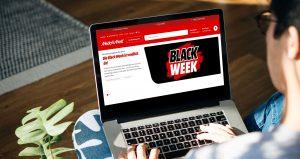 """MediaMarkt hat sich kurzerhand dazu entschlossen, die """"Black Week"""" vorzuziehen und schon am 17. November, statt am 20. November, beginnen zu lassen. (Bild: MediaMarkt)"""