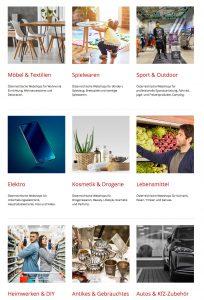 """Mit kaufsregional.at möchte der Handelsverband heimische Konsumenten beim Einkauf im eigenen Land unterstützen. """"Auf dieser Plattform finden Konsumenten hochwertige Produkte von über 5.000 heimischen Webshops"""", beschreibt der Verband. (Bild: Screenshot kaufsregional.at)"""