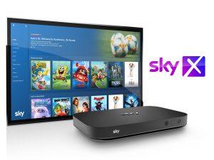 Ein neues Update macht Fernsehen mit der Sky X Streaming Box noch einfacher und komfortabler. Das gesamte Sky X Sport- oder Fiction-Programm gibts dabei ab jeweils 10 Euro pro Monat.