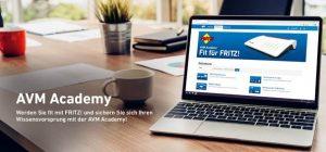 In der neuen AVM Academy macht der FRITZ!Box-Hersteller nun Expertenwissen rund ums (Heim-)Netzwerk und den Breitbandanschluss über Kabel, LTE/5G, Glasfaser oder Festnetz sowie über andere IP-Themen zugänglich.