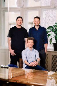 Die Refurbed-Gründer Jürgen Riedl, Kilian Kaminski und Peter Windischhofer (v.l.) wollen die Reichweite ihrer Plattform in den kommenden Monaten deutlich ausbauen.