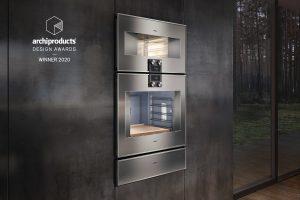 """Die neueste Generation der Serie 400 wurde im internationalen Wettbewerb mit dem renommierten archiproducts Design-Award in der Kategorie """"Küche"""" ausgezeichnet."""