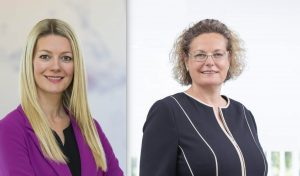 """Im zweiten Teil unserer Serie """"Frauen in der Branche"""" trafen wir auf Miele Geschäftsführerin Sandra Kolleth (rechts) und Miele Marketingleitern Elisabeth Leiter."""
