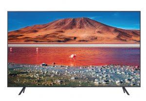 """Drei verlängert sein TV-Bundle: Kunden können damit einen gratis Samsung 50"""" 4K Smart TV bei der Anmeldung eines Internet für Zuhause-Tarifs erhalten."""