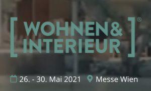 """Auf Grund der unsicheren Situation, hat Reed Exhibitions beschlossen, die ursprünglich für März 2021 anberaumte """"Wohnen&Interieur"""" auf Mai 2021 zu verschieben. (Bild: Screenshot Wohnen-interieur.at)"""