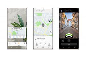 UM mit der SmartThings Find App ein Gerät zu finden, muss der Benutzer nur dieses auf seinem Smartphone- odeR Tablet-Bildschirm auswählen.