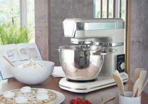 Küchenmaschinen gelten als die Arbeitstiere unter den Küchengeräten, wie gfu sagt. (Foto: Gorenje)