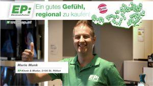 EP:Markenhändler aus ganz Österreich sind seit gestern wieder auf den heimischen TV-Schirmen präsent.