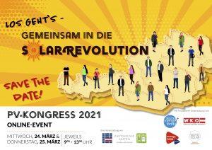 Der PV-Kongress 2021 läutet am 24. und 25. März die neue PV-Saison ein.