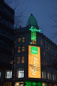 Leiner räumt - am prestigeträchtigen Standort Mariahilfer Straße 18 für immer. Die Ware soll nun mittels einer Auktion abverkauft werden.