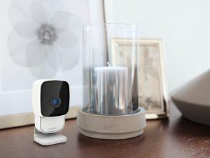 Die neue Indoor-Kamera Gigaset camera 2.0 für das Gigaset Smart Home System liefert Bilder in Full-HD-Qualität.