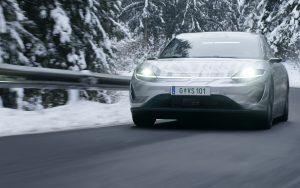 Zu seiner Mobilitäts-Initiative hat Sony auf der CES ein Update gegeben: Der VISION-S wird bereits seit Dezember in der Umgebung von Graz auf öffentlichen Straßen getestet.
