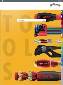Der Wiha Digital-Katalog ist online.