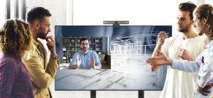 Die Digital Signage Displays der BenQ CS-Serie bieten gestochen scharfe Bilder in 4K-UHD-Auflösung und erlauben die gleichzeitige Darstellung von verschiedenen Betriebssystemen und Anwendungen.