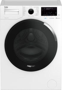 Das Modell WUV 8756 AQN gehört zu einem Trio von Beko-Waschamschinen, welche nicht nur über die jüngste AquaTech-Technologie verfügen, sondern sich dank Home Whizz App auch personalisieren lassen.