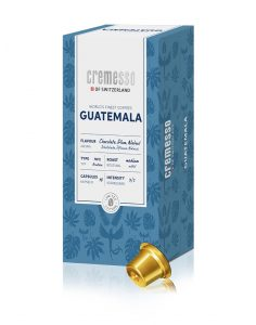 Die neue Cremesso World's Finest Coffees Edition Guatemala.