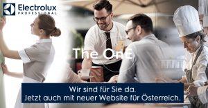 Der Hersteller professioneller Küchen- und Wäschereitechnik, Electrolux Professional, präsentiert seine neue Homepage für Österreich.