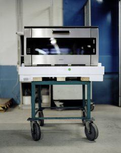 Am Produktionsstandort Dillingen setzt die BSH Hausgeräte erstmals Verpackungen aus recycelten Kunststoffen ein.