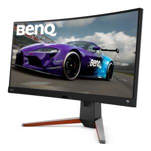 Das Curved Display BenQ MOBIUZ EX3415R intensiviert das Gaming-Erlebnis.