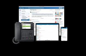 """Unify Office by RingCentral ist eine """"born-in-the-cloud, mobile first""""-Lösung, die Messaging-, Video- und Telefondienste der nächsten Generation bietet."""