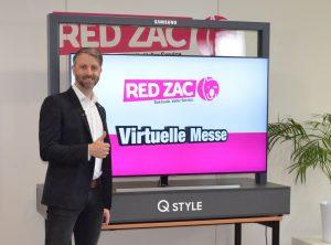 """Am 19. April 2021 startet Red Zac mit seiner """"Red Week Reloaded"""". Für das digitale Frühjahrsevent hat sich Kooperation etwas ganz spezielles einfallen lassen, wie Brendan Lenane (im Bild auf der digitalen Frühjahrsmesse 2020) ankündigt."""