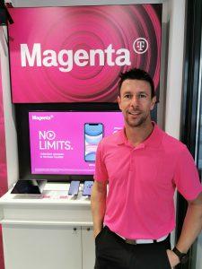 Manuel Moser, Inhaber von Vertragsservice Moser, setzt auf eine aktive Ansprache seiner Stammkunden. Damit wurde der Klagenfurter zum am stärksten wachsenden Gold Partner von Magenta im vergangenen Jahr.