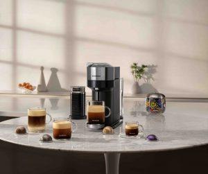 """28 Varietäten, fünf Tassengrößen, ein neues Kaffeesystem: Nespresso präsentiert """"VERTUO"""" – das nächste Kapitel in Punkto Kaffeegenuss, wie Nespresso sagt. (Bild: Nespresso)"""