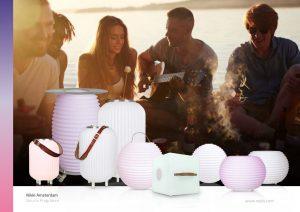 Getränkekühler, mehrfarbige Leuchte und Bluetoothlautsprecher in einem Gerät – das sind die Must Haves von Nikki.Amsterdam, die es bei Nedis gibt.