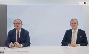 Aus Sicht von WKÖ-Generalsekretär Karlheinz Kopf (li.) und Mayr-Melnhof-CEO Peter Oswald war das bisherige Energieeiffizienzgesetz mit hohem Aufwand für die Unternehmen verbunden. Die anstehende Novelle sollte daher für bessere Rahmenbedingungen genutzt werden und Anreize für wirkungsvolle Energiesparmaßnahmen setzen.