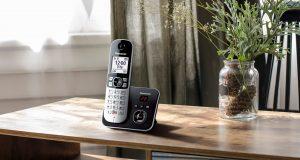 Das Panasonic Schnurlostelefon KX-TG6861 biete viele praktische Funktionen und macht auch optisch eine gute Figur.