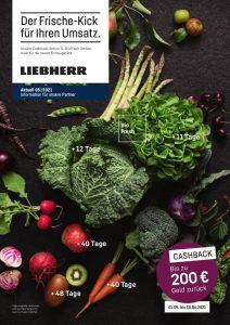 Von 1. Mai bis 30. Juni läuft die Liebherr BioFresh Cashback-Aktion.