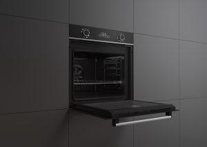 Zu den praktischen Details zählt die robuste Tür, welche Lasten von bis zu 22,5 Kg tragen kann.