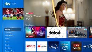 Alles einfach auf Sky: Disney+ ist ab sofort auf Sky Q und der Sky X Streaming Box verfügbar.