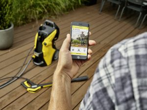 Die Kärcher Home & Garden App hilft bei der optimalen Reinigung und Anwendung der Geräte.