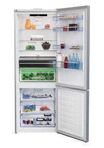 Mit dem RCNE560E40ZLXPHUN kommt nun der erste HygieneShield Kühlschrank nach Österreich. Dieser wartet einerseits mit einer intelligenten Desinfektionsschublade sowie der HarvestFresh Lade für die schonende Lagerung von Obst und Gemüse auf.