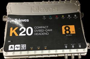 Auf dem Online-Kongress ANGA COM DIGITAL 2021 im Juni wird Televes die Kompakt-Kopfstellen der neuen K20-Serie präsentieren.