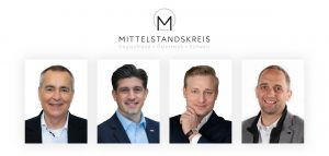 Vorstandssprecher Dirk Wittmer sitzt für die Region West im Vorstand des MK, MK Geschäftsstellenleiter ist Sebastian Allert, David Haefeli ist für die Region Schweiz in den Vorstand des MK und Volker Meier wurde als einer der zwei Vorstände der Region Österreich wiedergewählt.