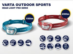 Ob Waldspaziergänge in der Dämmerung oder beim Camping – Stirnleuchten sorgen für die nötige Orientierung und helfen dabei den Überblick zu behalten. So wie die neuen Stirnlampen-Modelle Outdoor Sports H10 und Outdoor Sports H20 Pro von Varta.